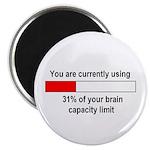 BRAIN CAPACITY LIMIT Magnet