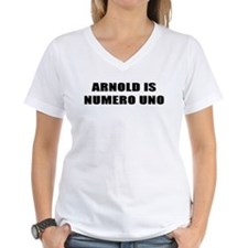 ARNOLD IS NUMERO UNO T SHIRT Shirt
