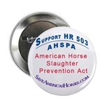 Save Americas Horses 2.25&quot; Button (100 pack)
