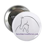 Save Americas Horses 2.25&quot; Button (10 pack)