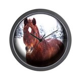 Save America's Horses Wall Clock