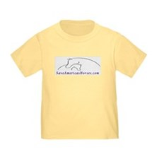 Save America's Horses Color Toddler TShirt