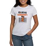 Kicking Leukemia's Ass Women's T-Shirt