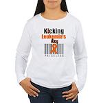 Kicking Leukemia's Ass Women's Long Sleeve T-Shirt