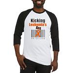 Kicking Leukemia's Ass Baseball Jersey