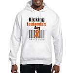 Kicking Leukemia's Ass Hooded Sweatshirt