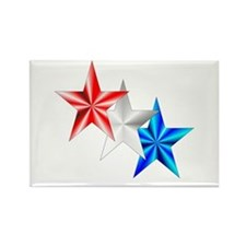 Stars Rectangle Magnet