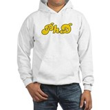 Retro PhD (Gold) Jumper Hoody