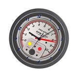 Tachometer Wall Clock