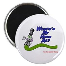 "Where's My Hose At: Fireman 2.25"" Magnet (10 pack)"