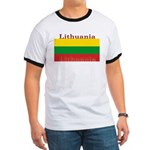 Lithuania Lithuanian Flag Ringer T