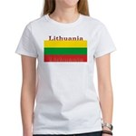 Lithuania Lithuanian Flag Women's T-Shirt