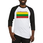 Lithuania Lithuanian Flag Baseball Jersey