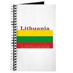 Lithuania Lithuanian Flag Journal