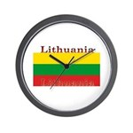 Lithuania Lithuanian Flag Wall Clock