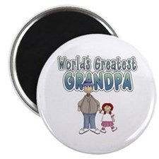 World's Greatest Grandpa Magnet