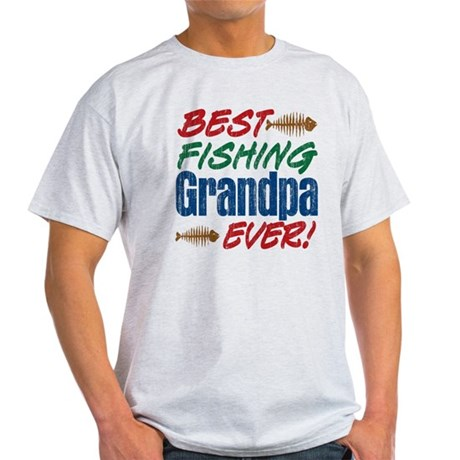 Best fishing grandpa ever t shirt by letscelebrate for Best fishing shirts