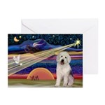 XmasStar/Old English 11 Greeting Cards (Pk of 10)
