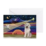 XmasStar/Old English 11 Greeting Cards (Pk of 20)