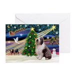 XmasMagic/Old English #9 Greeting Cards (Pk of 10)