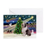 XmasMagic/Old English #9 Greeting Cards (Pk of 20)