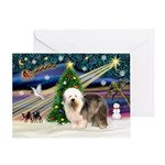 Xmas Magic & OES #5 Greeting Card