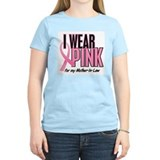 I Wear Pink For My Mother-In-Law 10 T-Shirt