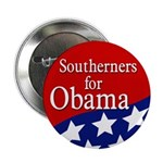 Southerners for Obama Campaign Button