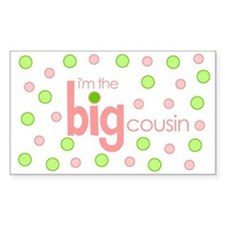 big cousin t-shirt Rectangle Decal