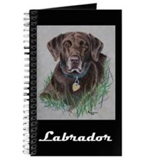 Nip, Chocolate Labrador Journal