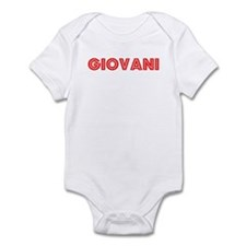Retro Giovani (Red) Infant Bodysuit