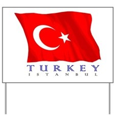 Turkish Flag (Istanbul) Yard Sign