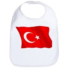 Turkish Flag (No Text) Bib