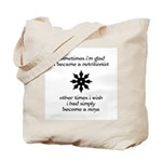Ninja Nutritionist Tote Bag
