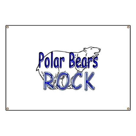 Polar Bears Rock Banner