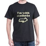 I'm with Modhran Dark T-Shirt