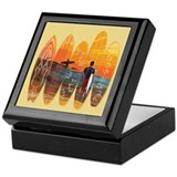 Pure Surfing Keepsake Box