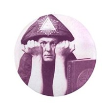 "Aleister Crowley 3.5"" Button (100 pack)"