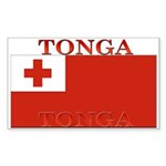 Tonga Rectangle Sticker