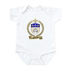 BELLIVEAU Family Crest Infant Creeper