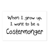 When I grow up I want to be a Costermonger Postcar