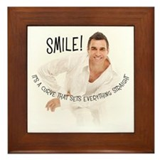 Adrian Paul Framed Tile