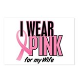 I Wear Pink For My Wife 10 Postcards (Package of 8