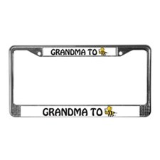 Cool Expecting grandma License Plate Frame