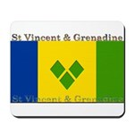 St Vincent & Grenadine Mousepad