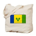 St Vincent & Grenadine Tote Bag