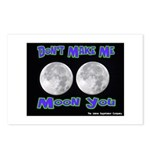 Don't Make Me Moon You Lunar Postcards (Package of