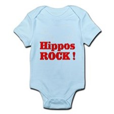 Hippos Rock ! Infant Bodysuit