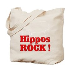 Hippos Rock ! Tote Bag