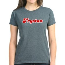Retro Trystan (Red) Tee